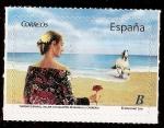 Sellos del Mundo : Europa : España : Mujer con manton de manila