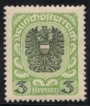 Sellos de Europa - Austria -  Escudos-1920