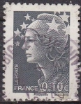 Stamps France -  FRANCIA 2009 Sello Basico Marianne usado France