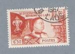 Stamps Laos -  Personaje