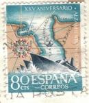 Sellos de Europa - España -  ESPANA 1961 E1354 XXV Aniversario del Alzamiento Nacional 80c