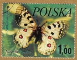 Stamps Europe - Poland -  MARIPOSAS
