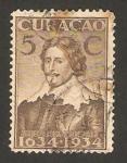 Stamps America - Curaçao -  príncipe frederik hendrik
