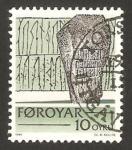 Sellos del Mundo : Europa : Dinamarca :  Islas Feroe - Escritos históricos de las Islas Feroe