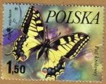 Sellos de Europa - Polonia -  MARIPOSAS