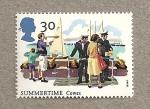 Stamps United Kingdom -  Tiempo de verano