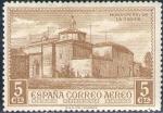 Sellos de Europa - España -  ESPAÑA 1930 547 Sello ** Descubrimiento de América Correo Aereo Monasterio de la Rabida 5c Espana
