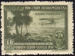 Stamps Europe - Spain -  ESPAÑA 1930 584 Sello ** Pro Union Iberoamericana Sevilla Correo Aereo Argentina Teodoro Fels 1ª