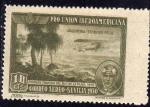 Stamps of the world : Spain :  ESPAÑA 1930 584 Sello Nuevo Pro Union Iberoamericana Sevilla Correo Aereo Argentina Teodoro Fels 1ª