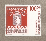 Stamps Greenland -  Paquete postal