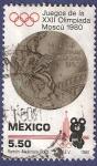 Sellos de America - México -  MÉXICO Juegos Olímpicos 1980 5,50