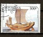 Stamps Africa - Benin -  Embarcaciones