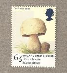 Sellos de Europa - Reino Unido -  Especies en peligro de extinción
