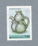 Stamps Asia - South Korea -  Jarra
