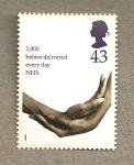 Stamps United Kingdom -  ServicioNacional Salud