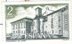 Sellos de Europa - España -  ESPANA 1974 (E2229) Monasterio de Leyre - vista exterior 2p
