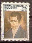 Stamps America - Honduras -  JOSÉ  CECILIO  DEL  VALLE
