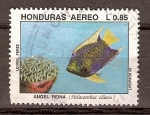 Sellos de America - Honduras -  HOLACANTHUS  CILIARIS