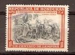 Sellos de America - Honduras -  DESCUBRIMIENTO  DE  AMÉRICA