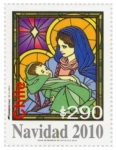 Stamps America - Chile -  Navidad 2010