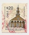 Sellos de America - Chile -  Iglesias de Chiloe