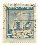 Stamps Chile -  Definitives (Salitre)