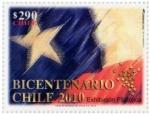 Stamps : America : Chile :  Exhibición Filatélica Bicentenario