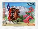 Stamps America - Chile -  Símbolos Patrios