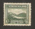 Sellos de America - Isla de Terranova -  las colinas gemelas