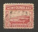 Stamps : America : New_Foundland :  bahía de trinity
