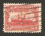Stamps America - New Foundland -  barco