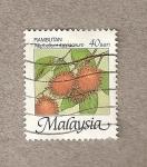Stamps Malaysia -  Nephelium lappaceum