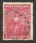 Stamps New Foundland -  príncipe de gales