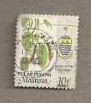 Stamps Malaysia -  Piper nigrum
