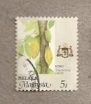 Sellos de Asia - Malasia -  Theobroma cacao