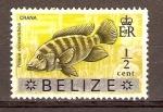 Stamps Belize -  PEZ   CRANA