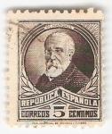 Sellos de Europa - España -  Efigie Pi Margall. - Edifil 663