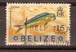 Stamps America - Belize -  PEZ  DELFIN