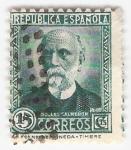 Stamps Spain -  Efigie Nicolás Salmerón. - Edifil 665