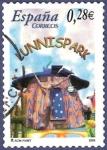 Stamps Spain -  Edifil 4176 Lunnispark 0,28