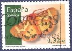 Stamps Spain -  Edifil 4466 Polilla Hyphoraia dejani 0,32