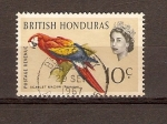 Stamps America - Belize -  SCARLET  MACAW