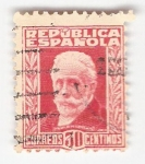 Stamps Spain -  Efigie Pablo Iglesias. Edifil 669