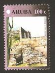 Stamps America - Netherlands Antilles -  aruba - antigua fundición de oro de balashi
