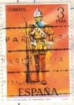 Sellos de Europa - España -  ESPANA 1973 (E2141) Uniformes militares 3p