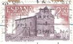 Stamps Spain -  ESPANA 1971 (E2066) Ano Santo Compostelano - Iglesia Villafranca del Biezo 2.50p