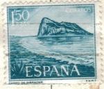 Stamps Spain -  ESPANA 1969 (E1933) Pro trabajadores espanoles de Gibraltar - Penon 1.50p
