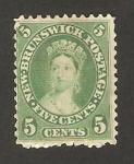 Stamps America - Canada -  new brunswick - personaje femenino