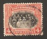Stamps Asia - Malaysia -  borneo del norte - 1ª reunión del comité de borneo del norte