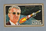 Stamps United Arab Emirates -  Apolo 15